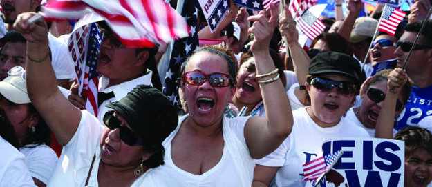 Protestors Rally For Immigration Reform At Nation's Capitol